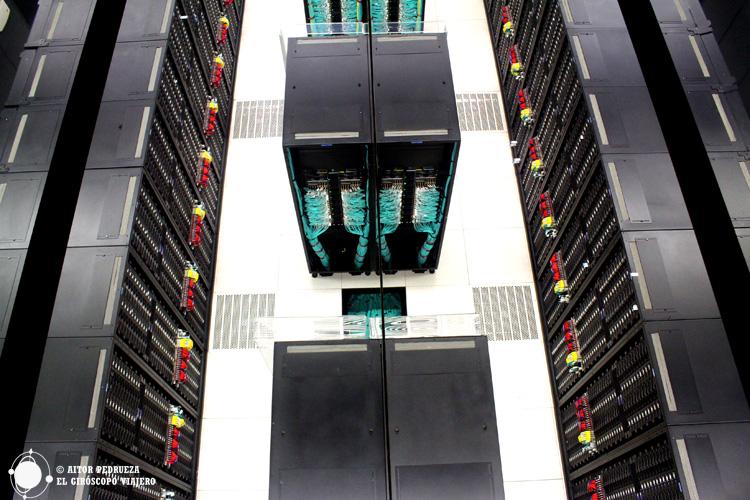 Servidores del Centro de Supercomputación de Barcelona