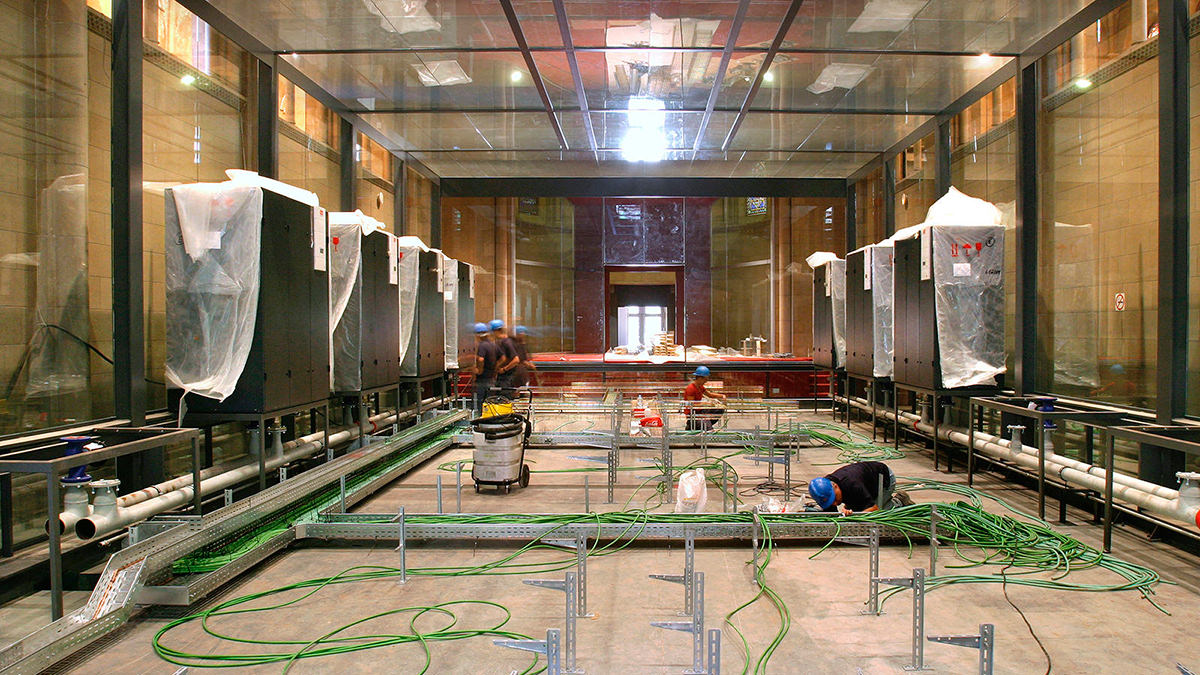 Construcción del Superodenador del BSC
