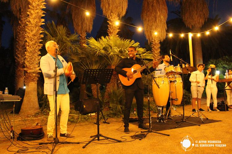 Concierto de música cubana en el Parc Samà