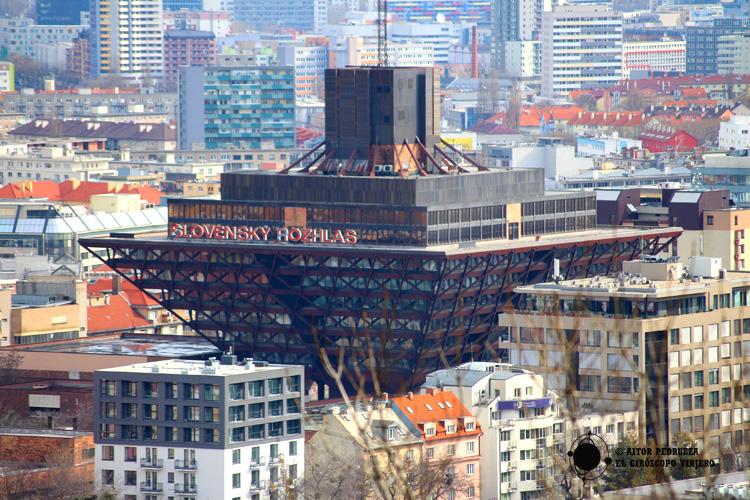 Edificio de la Pirámide de radio Slovakia