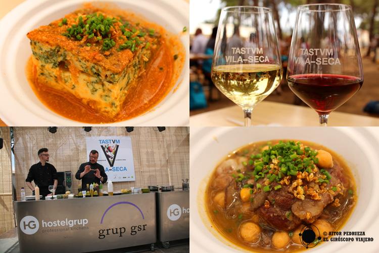 Feria gastronómica Tastum en Vila Seca