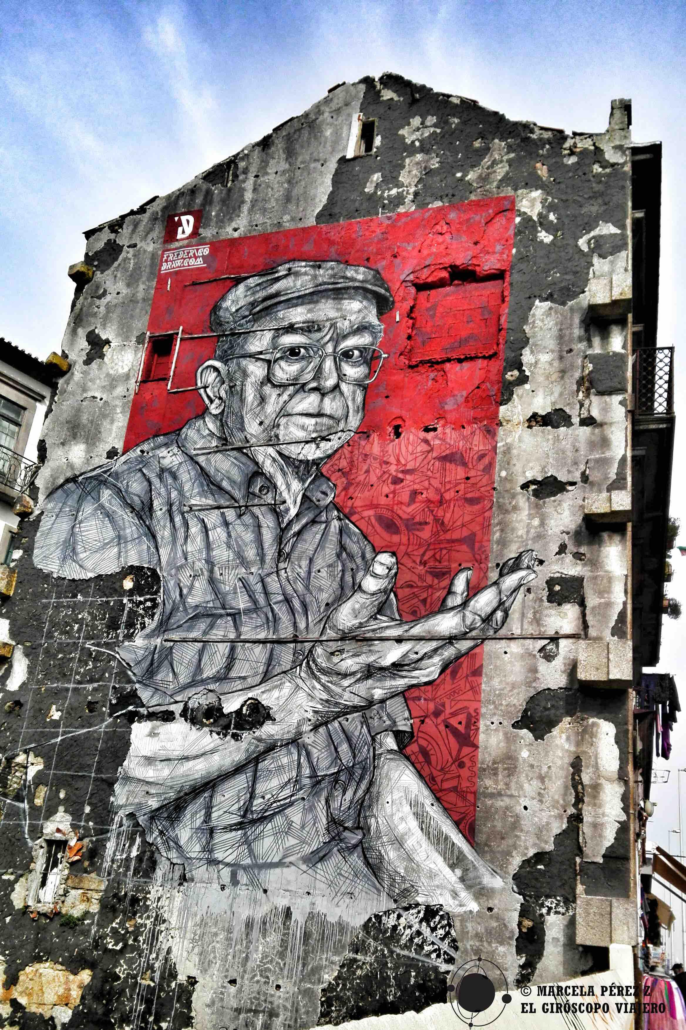 Preciosos murales en Glasgow no pasan indeferentes a la vista ©Marcela Pérez Z.