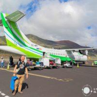 Vuelos entre las islas Canarias en un avión ATR 72. Una aventura emocionante