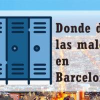Consignas de la Estación de Sants, un lugar práctico para dejar las maletas en Barcelona