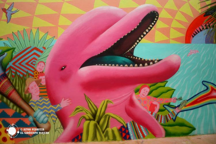 Graffiti en la isla de Cozumel
