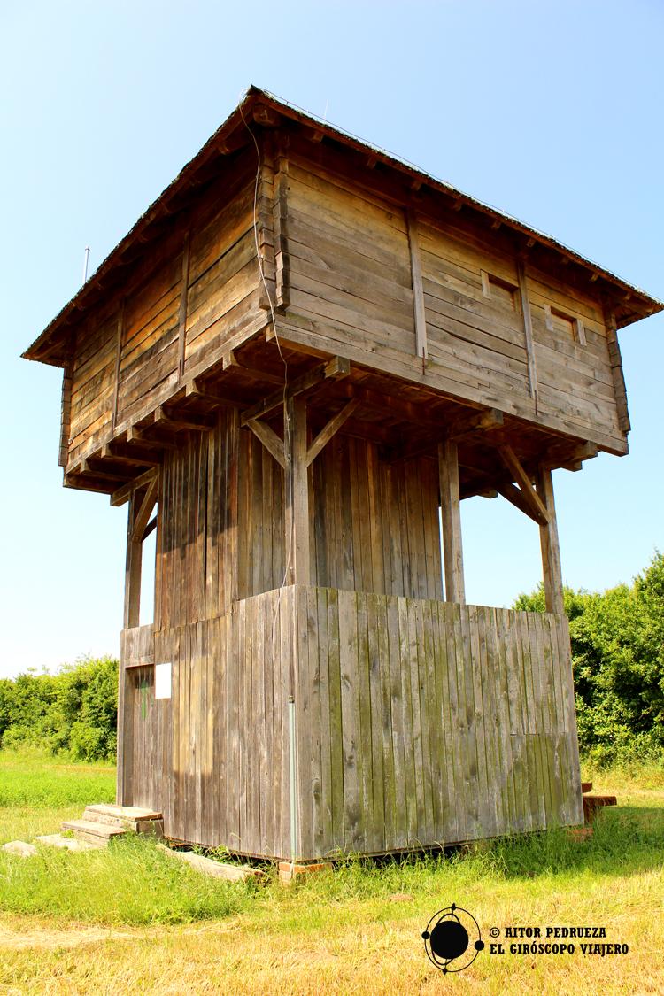 Torres de avistamiento de aves en el Parque Natural de Lonjsko Polje