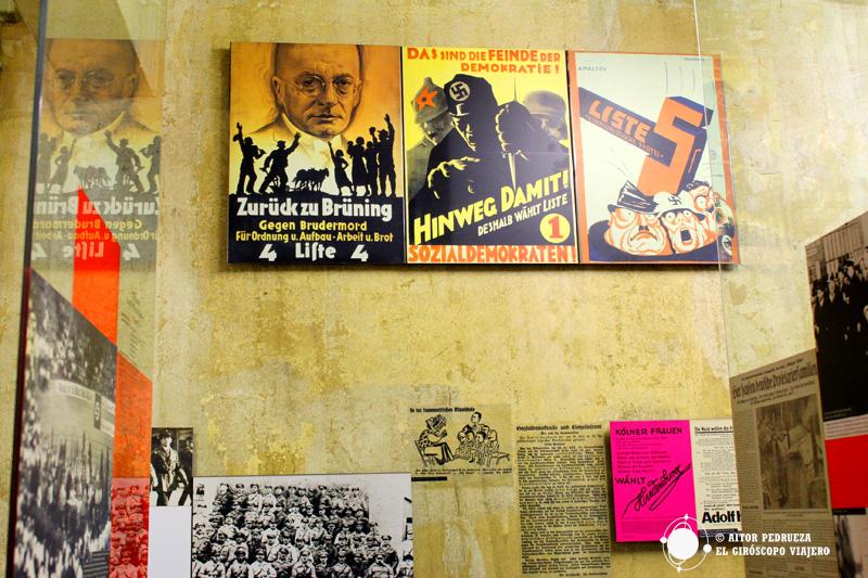 Exposición en el NS-Dokumentationszentrum Köln