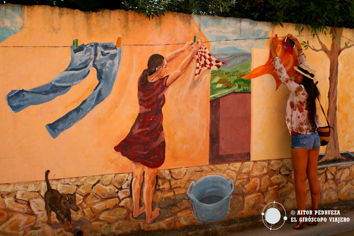 Murales de san Sperate - Cerdeña