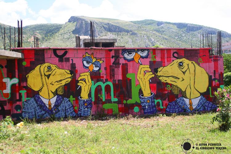 Street Art en Mostar -Bosnia