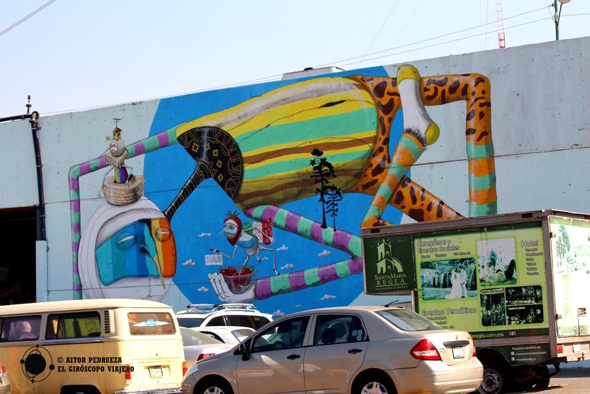 Mural del Mercado de Abastos de Ciudad de México