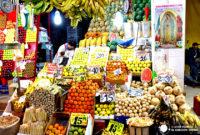 """Entre """"diableros"""" y murales por el Mercado de la Central de Abastos de Ciudad de México"""