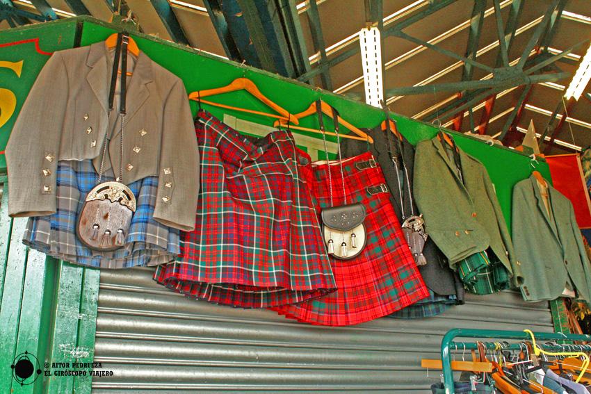 El mercado The Barras en Glasgow