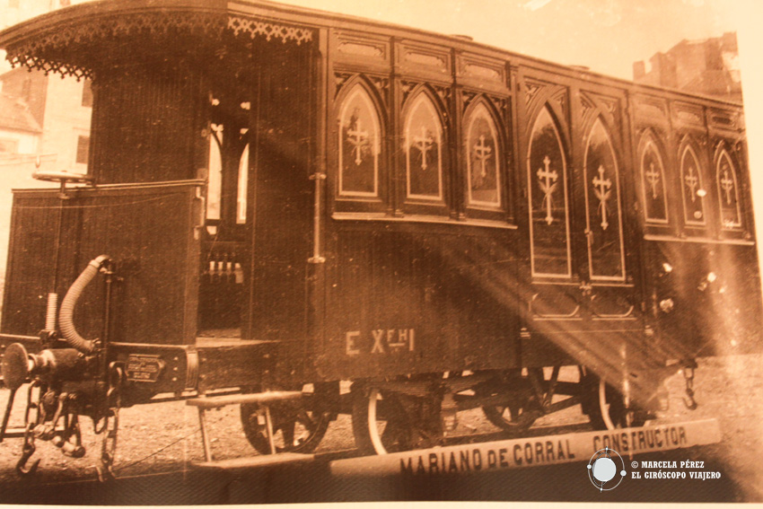 """""""El ferrocarril de la muerte"""" como se conocía al tren que iba hasta el cementerio de Derio desde Bilbao"""