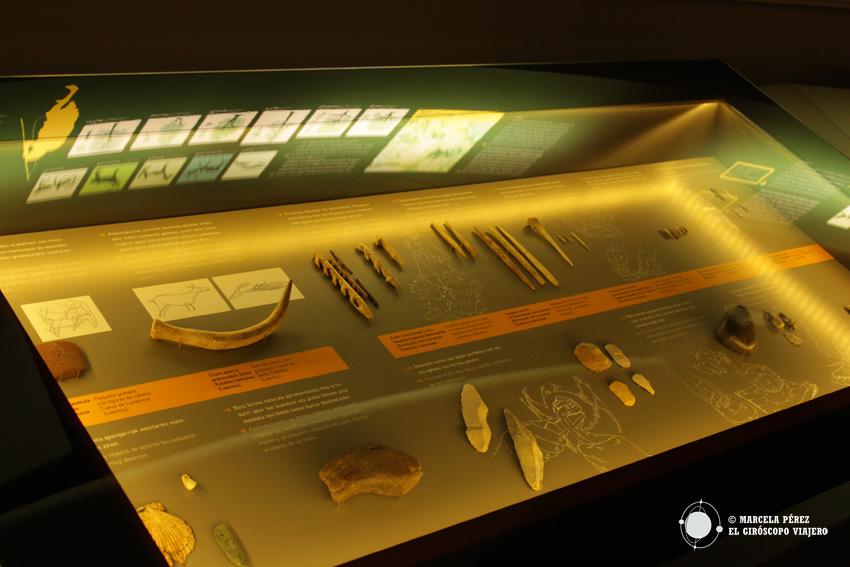 Sala de exposición del Museo de Arqueología de Bilbao