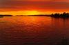 Atardeceres estivales en Finlandia. La magia del Sol de Medianoche