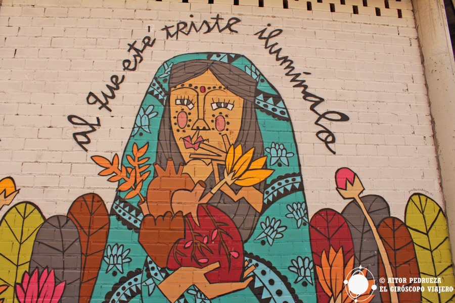 Mural en las Cortes