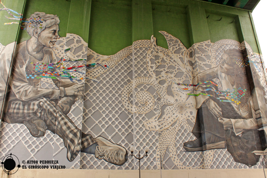 Mural Giltza bat