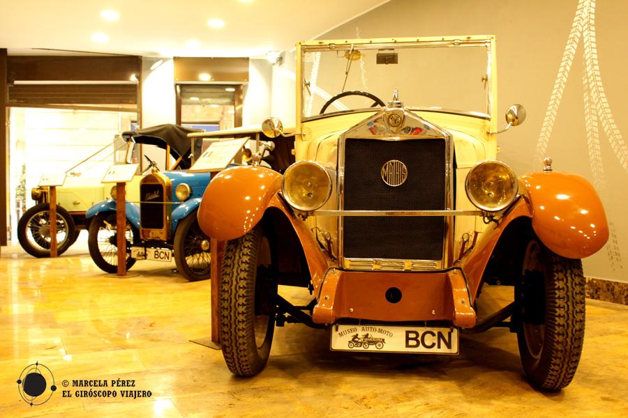 Museo de Coches y motos clásicas de Barcelona (RAMM)