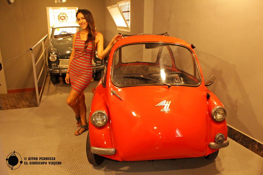 Uno de los coches más curiosos del Museo del Auto Retro de Barcelona