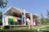 Le Corbusier pinta de color la Casa Heidi Weber o Maison de l'Homme de Zúrich