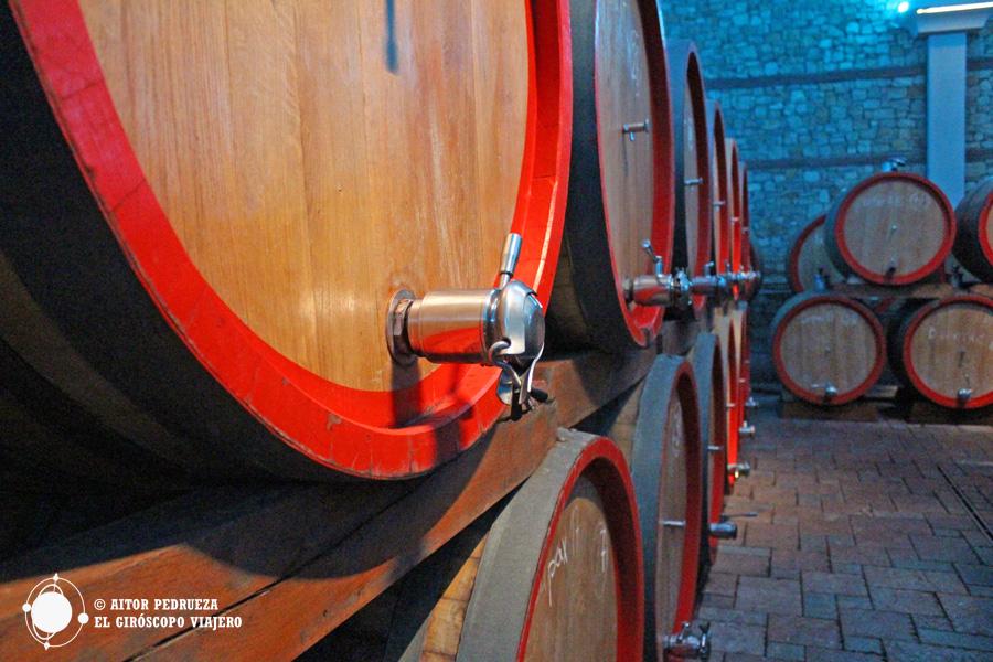 Bodegas de vino macedonio