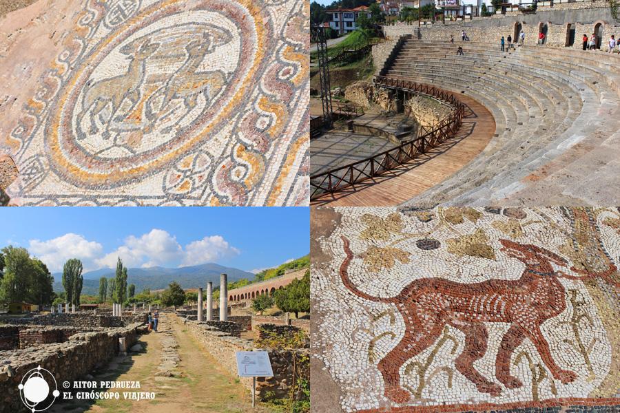 Yacimientos romanos en Macedonia- Stobi, Heraclia Lyncentis y Ohrid
