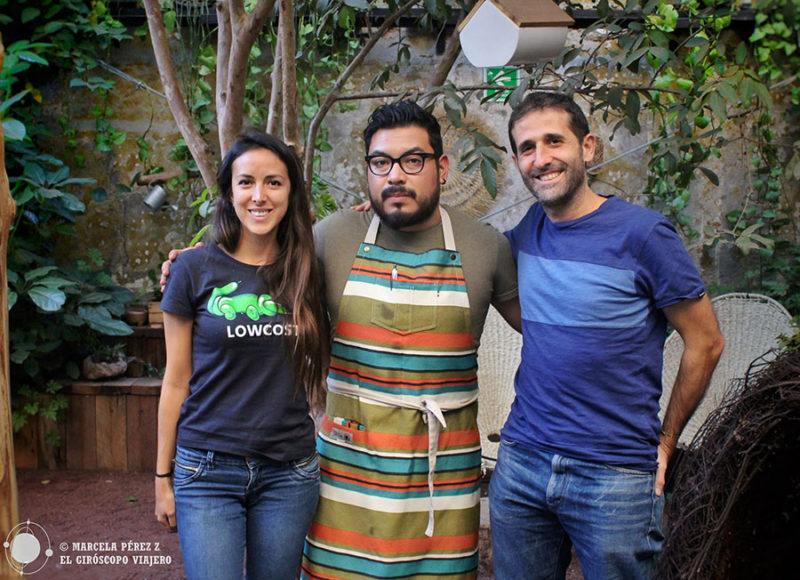 El Giróscopo con el gran chef Alan Sanz en el restaurante Parcela