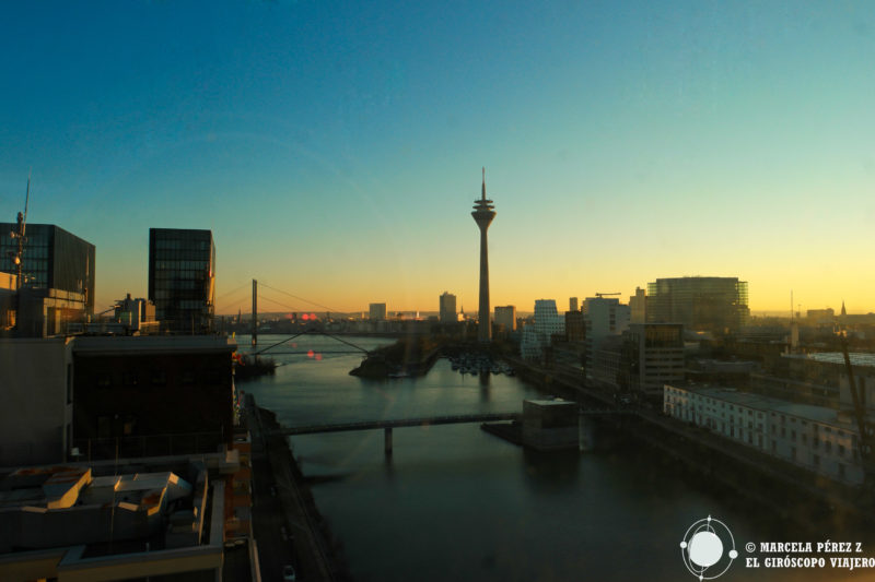 Puerto fluvial de Düsseldorf