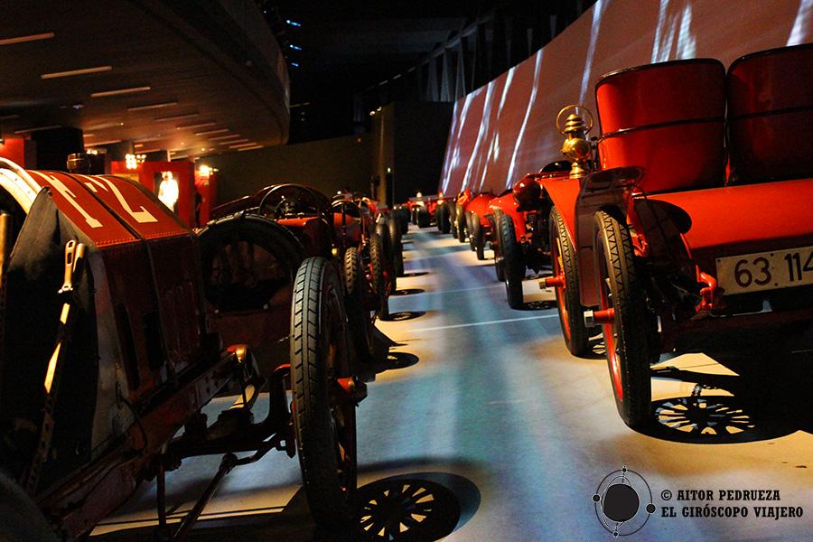 Los automóviles diseñados por Ferrari para las competiciones automovilísticas.