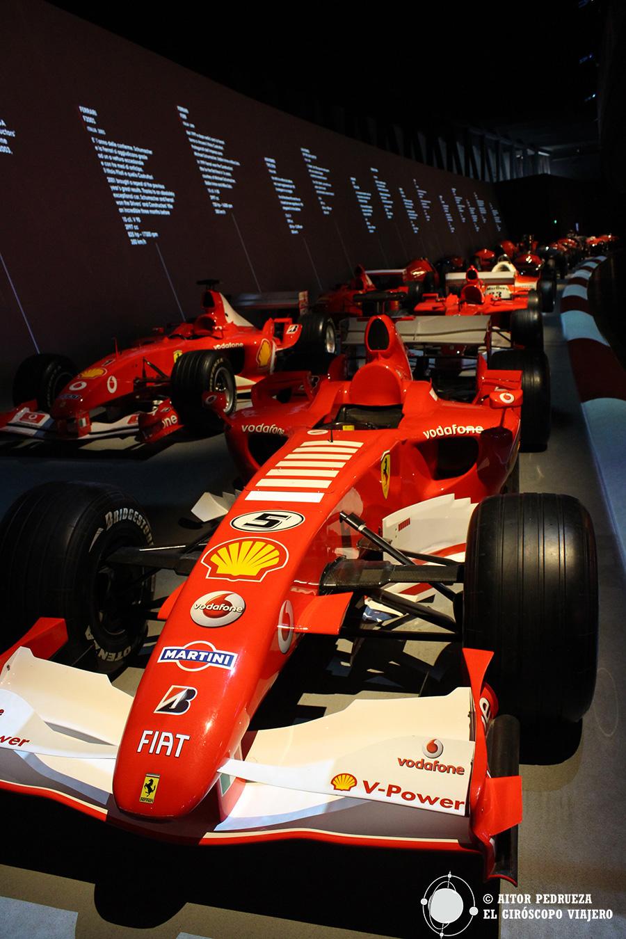 Los Ferrari Fórmula1