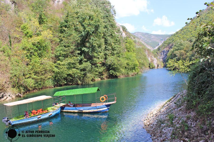 Cañón Matka en Macedonia