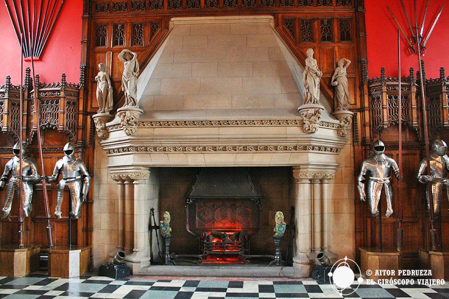 Gran Salón del castillo de Edimburgo