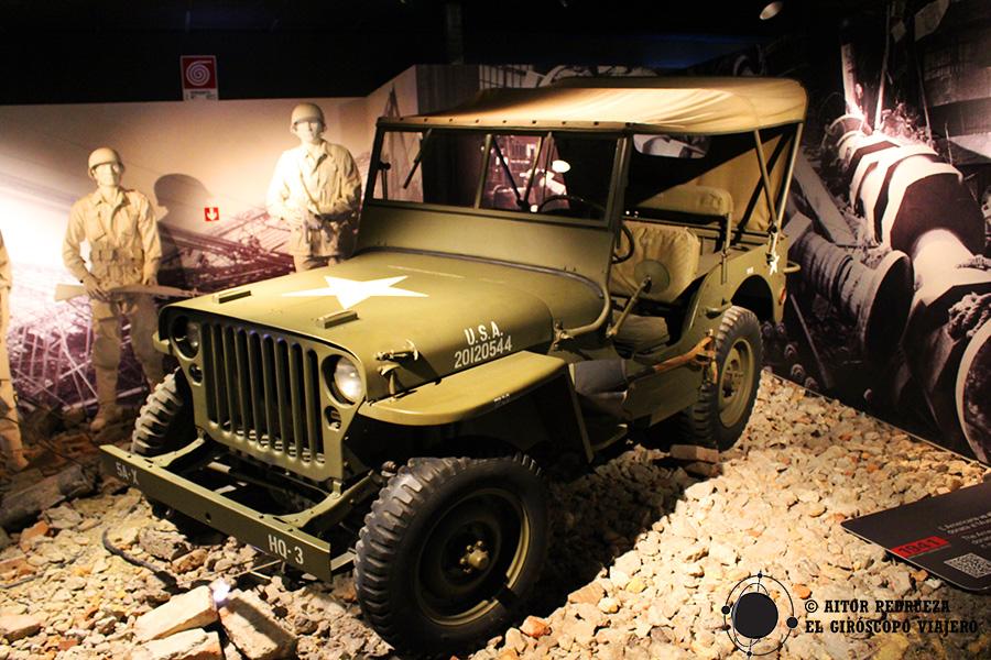 El jeep, un clásico de la segunda guerra mundial en el ejército de Estados Unidos