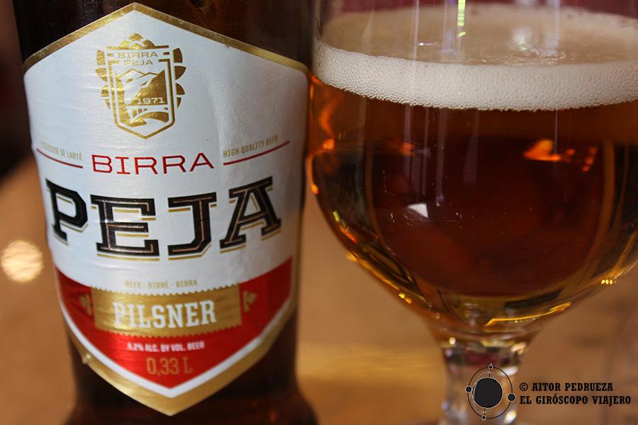 Cerveza kosovar Peja