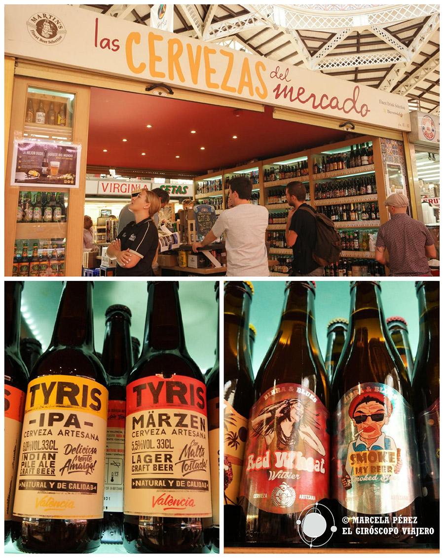 """Las """"cervezas del Mercado"""" , un lugar donde comprar las mejores cervezas"""