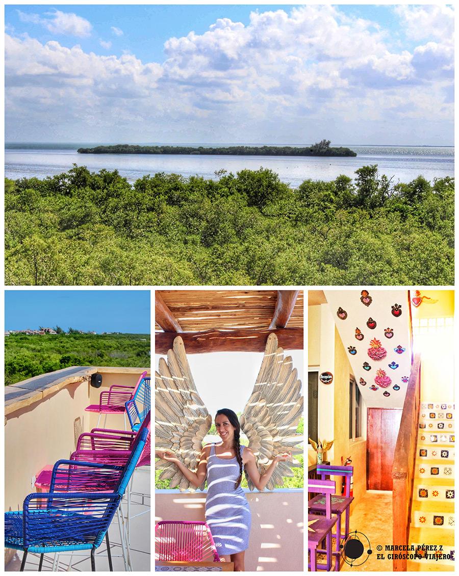 Un alojamiento con encanto en la isla de Holbox