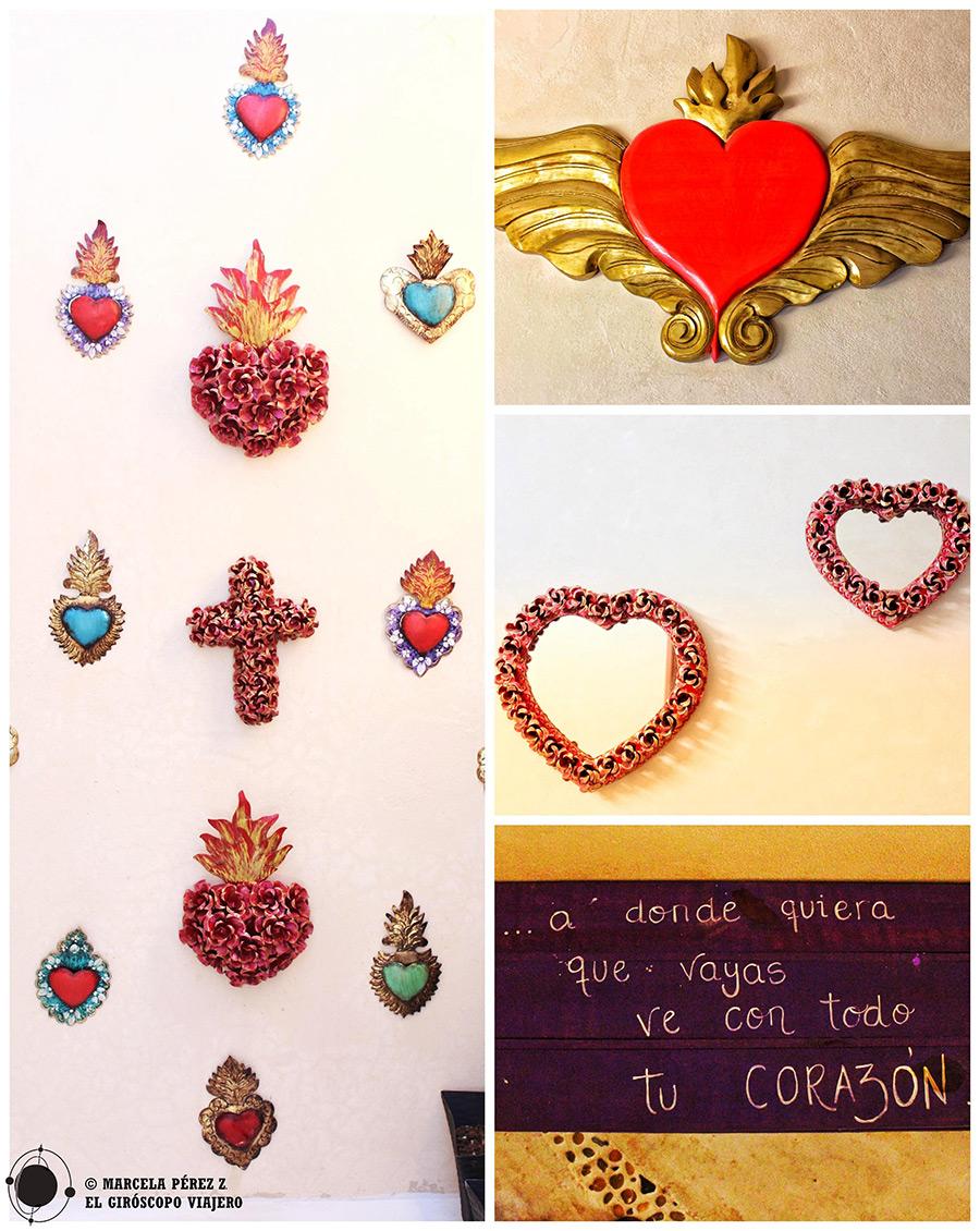 Detalles en el alojamiento Corazón Mexicano