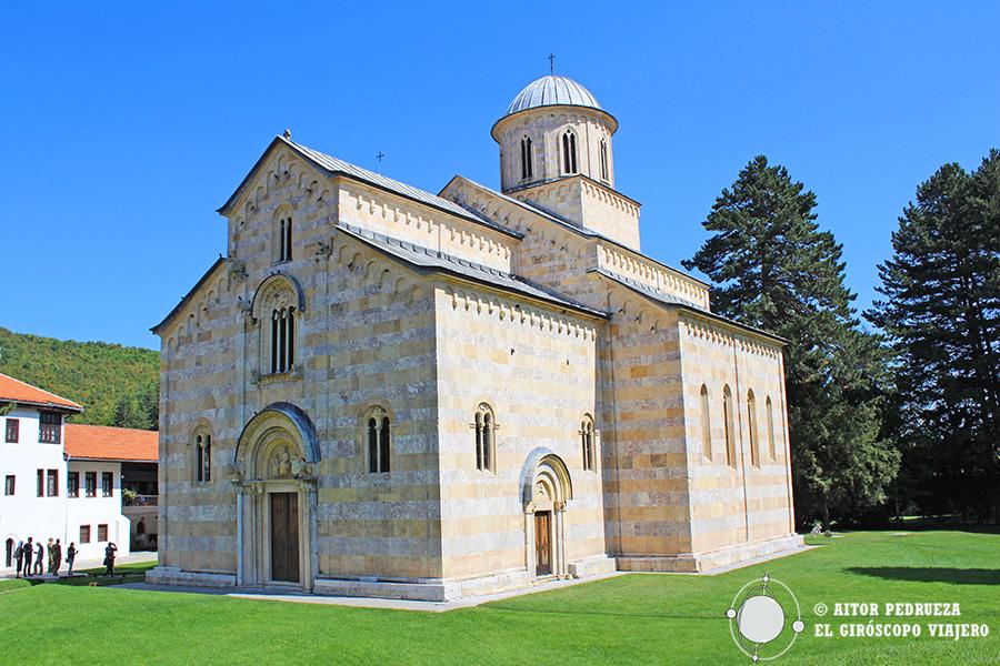 Exterior del monasterio Visoki Decani