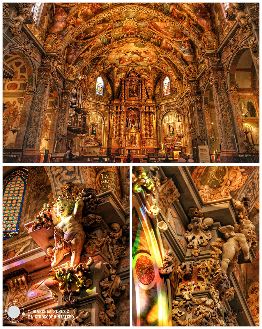 Frescos de la Iglesia de San Nicolás de Barí en Valencia