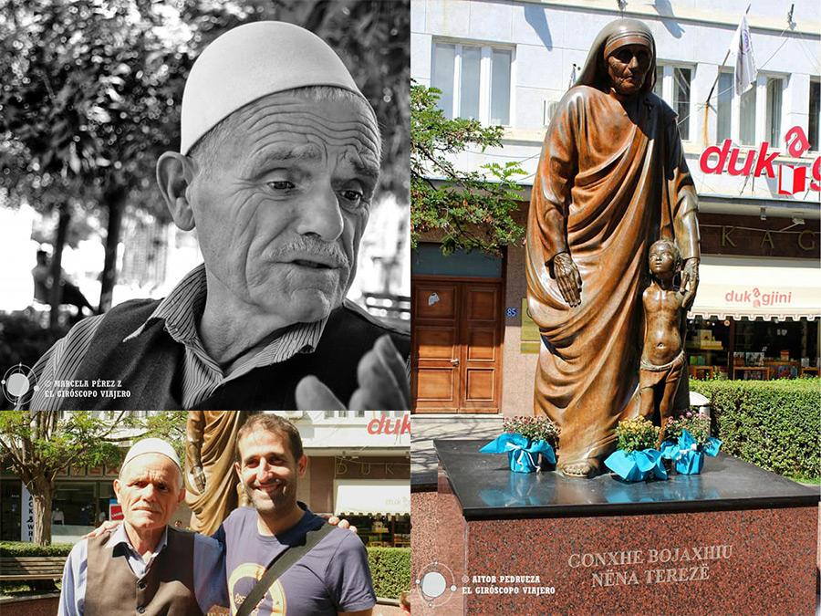 Estatua de Teresa de Calcuta en Pristina