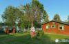 Una cabaña en Ikaalinen en la región de los Mil lagos de Finlandia