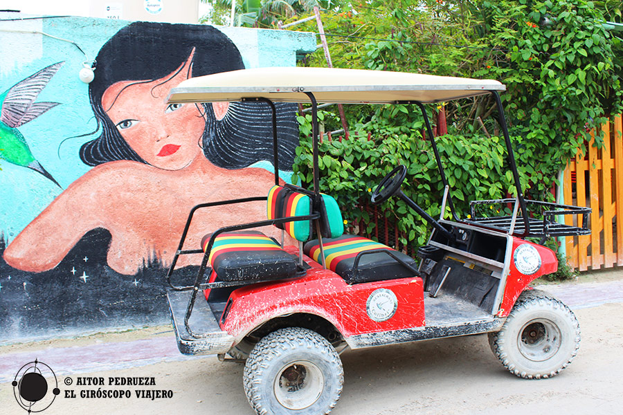 Carritos de Golf en Holbox