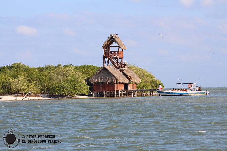 Isla Pasión, parada en la excursión en barco