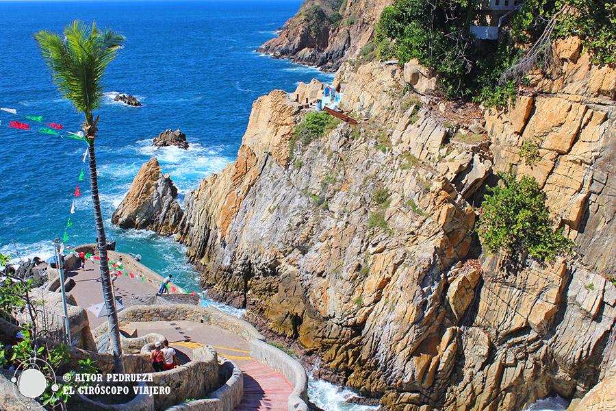 Acantilados de la Quebrada de Acapulco