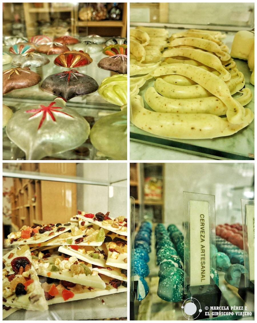 Delicias dulces que abren el más puro antojo del más chocofanático ©Marcela Pérez Z.