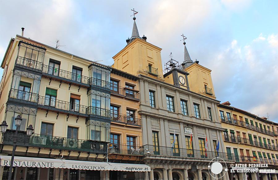 Ayuntamiento de Segovia en la Plaza Mayor