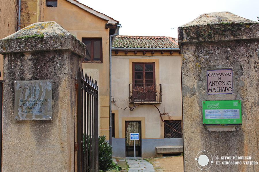 Casa Museo de Machado en Segovia