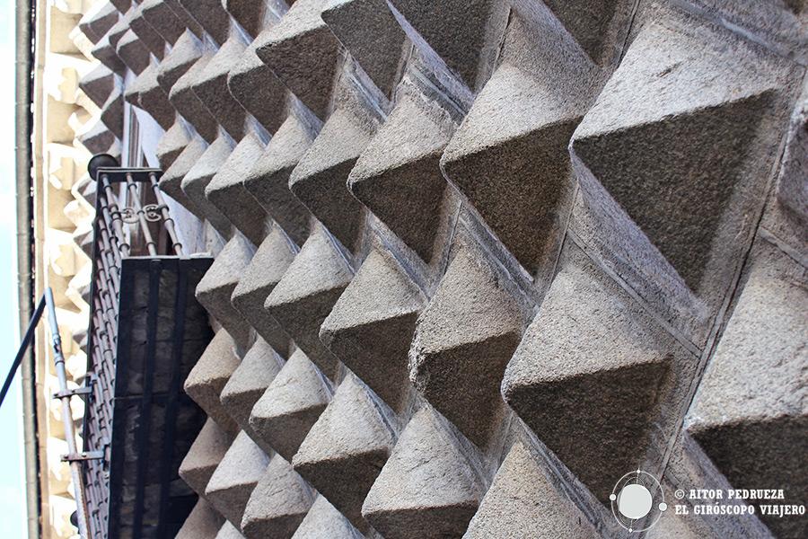 Casa de los Picos, uno de los edificios peculiares de Segovia
