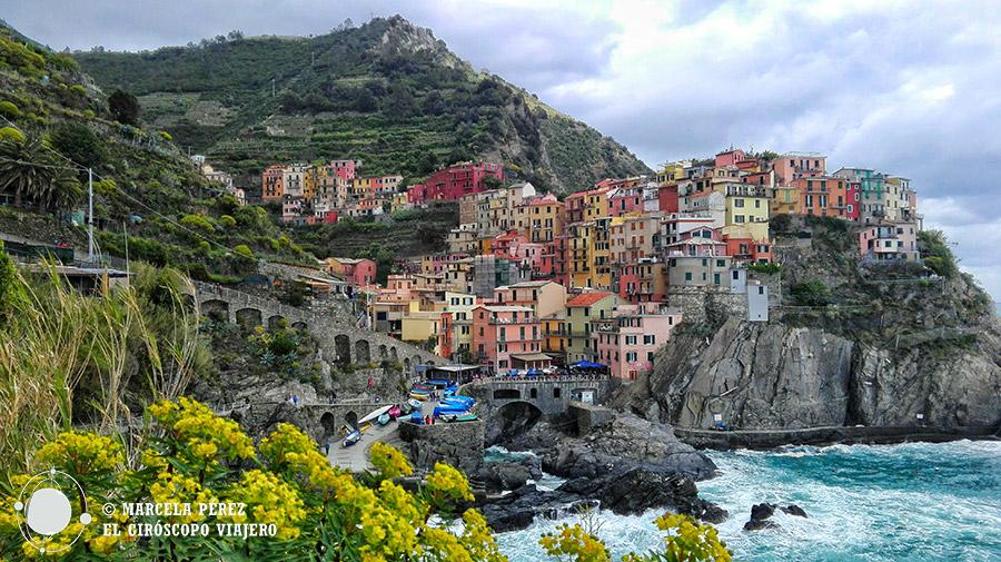 Manarola, uno de los pueblos de Cinque Terre en Liguria