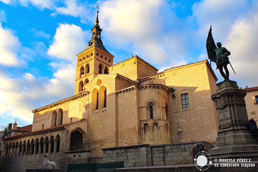 Iglesia románica de San Martín en Segovia
